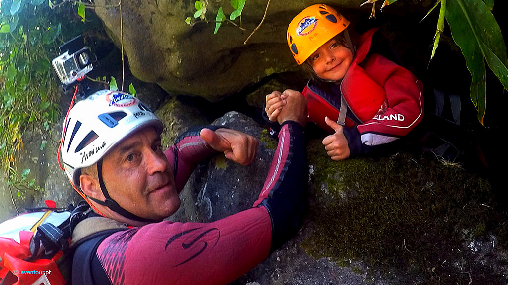 Canyoning Junior in Sao Jorge Island - Azores